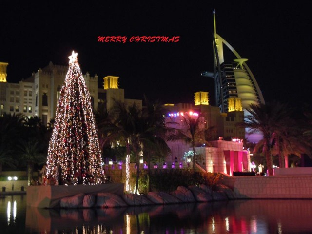 Christmas Parties in Dubai nightlife: December 25, 26 ,27 2014
