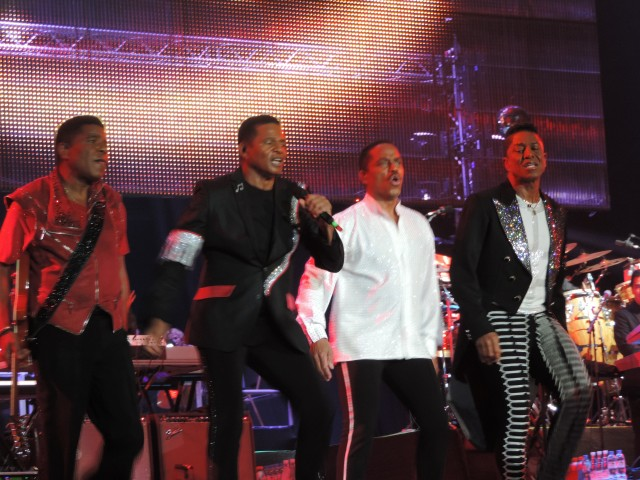 The Jacksons in concert @ Media City Amphitheatre, Dubai