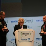Solar Impulse Pilots receive The Chromy Award 2015, 19 Jan 2015