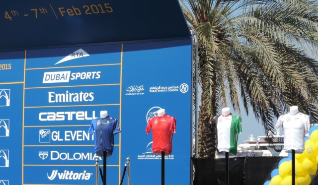 Mark Cavendish is the Champion of the Dubai Tour 2015
