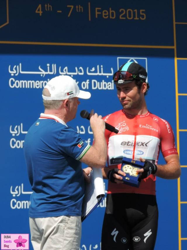 Mark Cavendish is the Champion of the Dubai Tour 2015