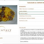 Winter Black Truffle Menu extended until March 31st @ Eataly