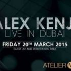 Weekend events in Dubai nightlife: March 19, 20 2015