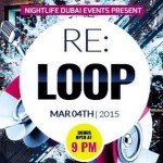 Weekly events in Dubai nightlife: March 3, 4 2015