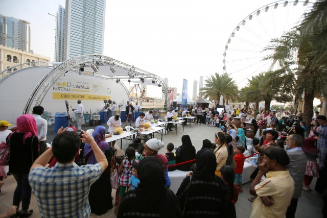 Al Majaz Waterfront prepares to host Sharjah Food Festival 2015