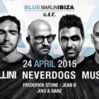 Weekend events in Dubai nightlife: April 23, 24 2015