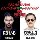 Closing Season Weekend in Dubai: June 11, 12 2015