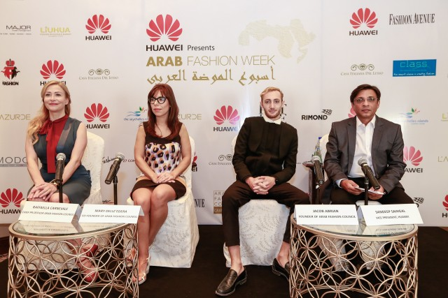 First Edition of Arab Fashion Week on Oct 31 - Nov 2 2015