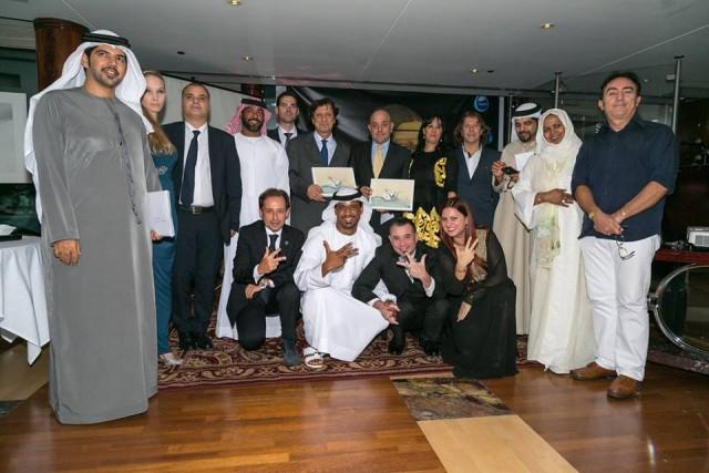 Dubai Golden Brush Award: Emozioni, Ringraziamenti e Foto