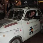 Tarti, una FIAT '500. Milioni di sogni. Dubai la saluta con un grazie....