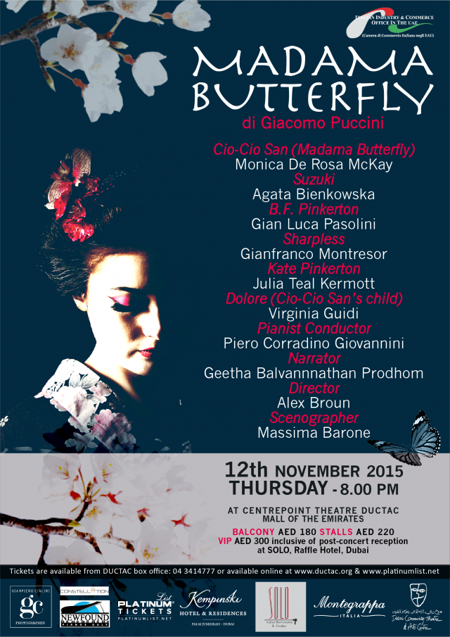 Madama Butterfly @ DUCTAT on November 12th 2015