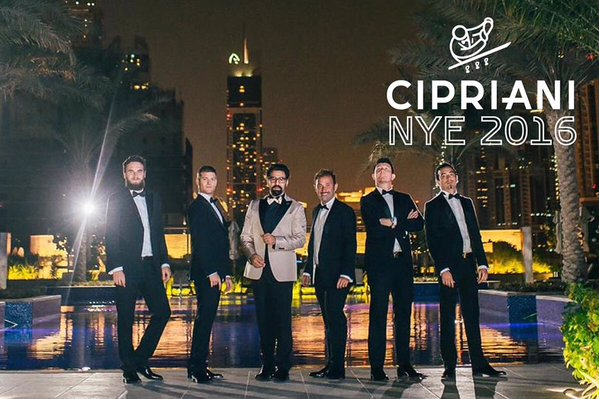 Cipriani Venetian NYE 2016 with special performance by Mark Zitti e i Fratelli Coltelli