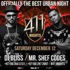 Weekend Events in Dubai Nightlife: Dec 11, 12 2015