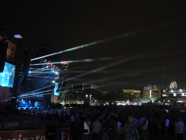 Dubai Jazz Fest Day 1 was a residing success
