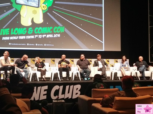 MEFCC - Middle East Film & Comic Con @ DWTC 7-9 April 2016