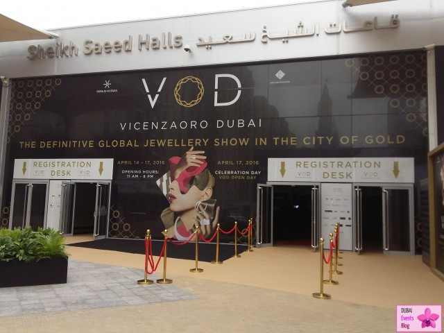 VicenzaOro Dubai @ DWTC 14-17 April 2016