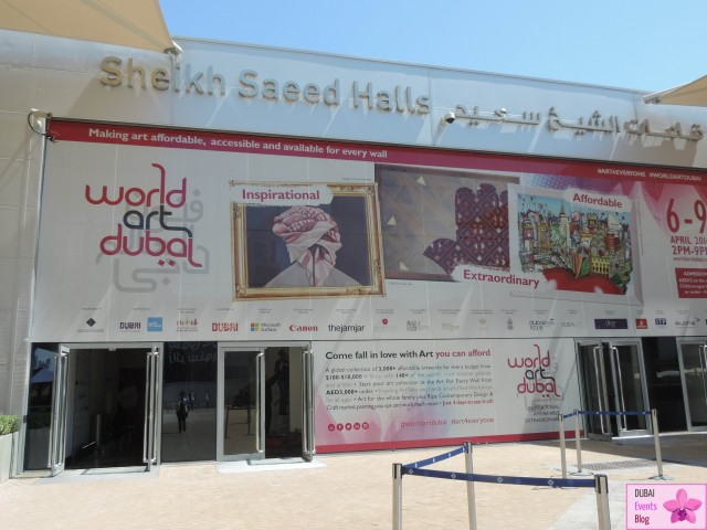 World Art Dubai @ DWTC 6-9 April 2016