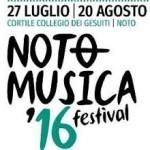 Noto Musica Festival 2016 @ Cortile Collegio dei Gesuiti
