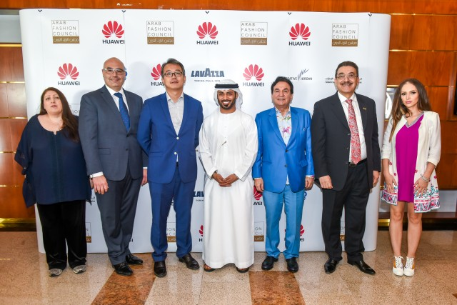 Huawei Arab Fashion Week (HAFW) Press Conference @The Meydan Hotel