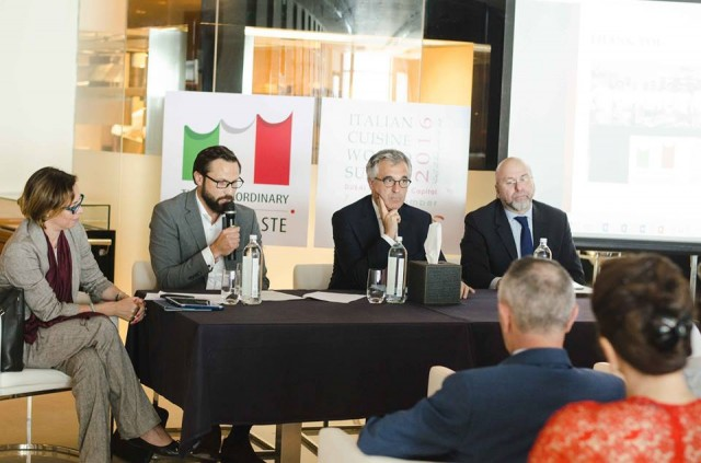 Press Conference for the launch of the 8th Edition of the Italian Cuisine World Summit