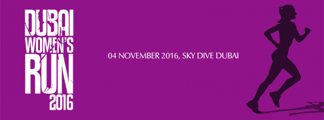 Dubai Women's Run on Friday, 4th November 2016, on The Palm Sky Dive Dubai