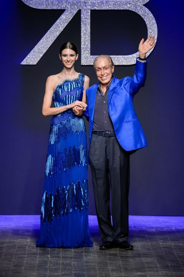 L'Asian Couture Federation premia Renato Balestra a Londra