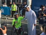 Tola wins the Standard Chartered Dubai Marathon 2017