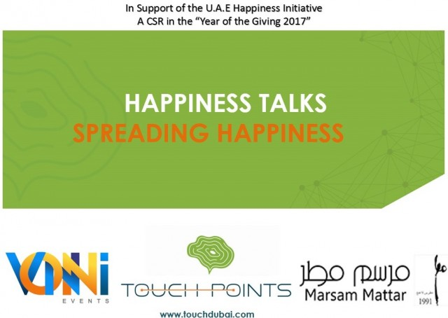 Happiness Talks - Spreading Happiness on 9th January 2017