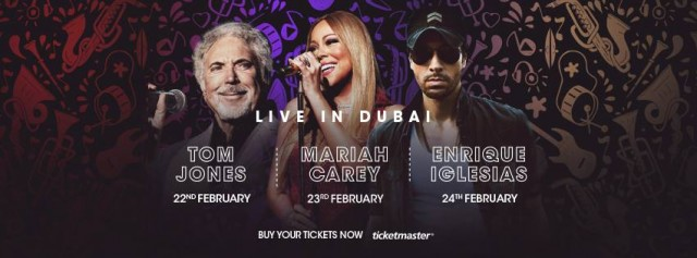 Emirates Airline Dubai Jazz Festival from 22nd till 24th February 2016