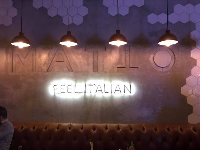 Matto Dubai, Italian Restaurant @ The Oberoi Hotel Dubai