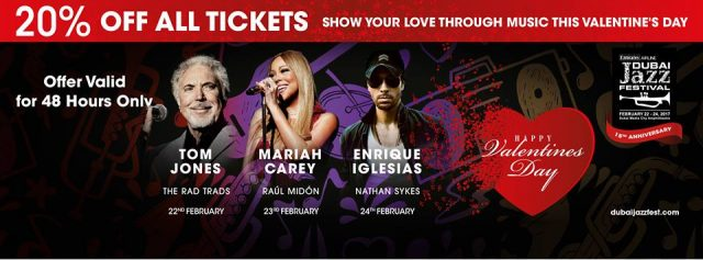 Supporting Acts line-up: Emirates Airline Dubai Jazz Festival 2017