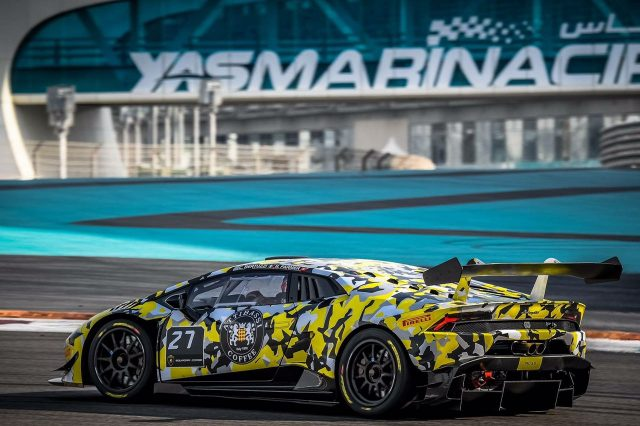 2nd Round of Lamborghini Super Trofeo @ Dubai Autodrome on 16-18th Feb 2017