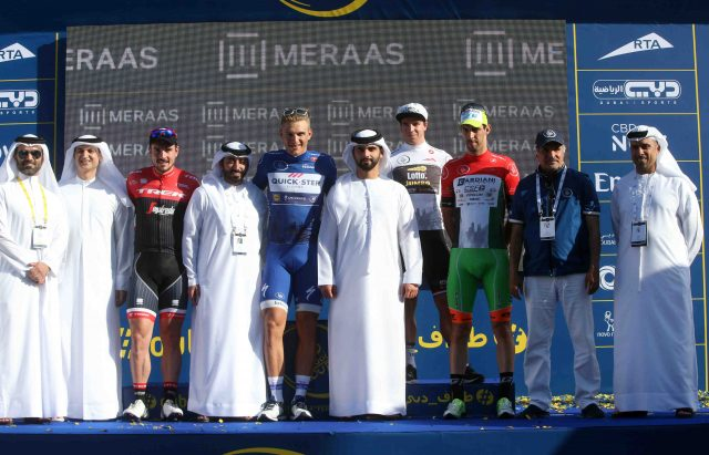 Marcel Kittel wins Dubai Tour 2017