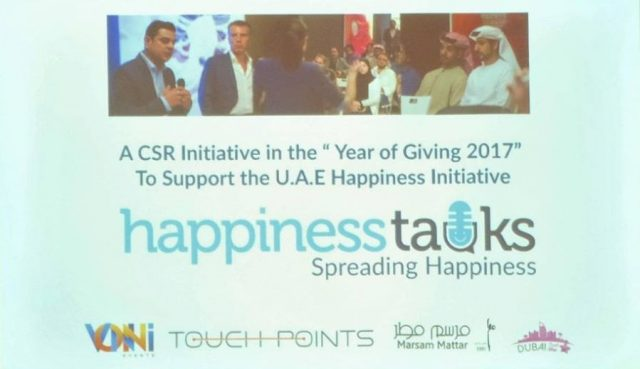 "Happiness Talks continues to spread happiness in ""The Year of Giving"""
