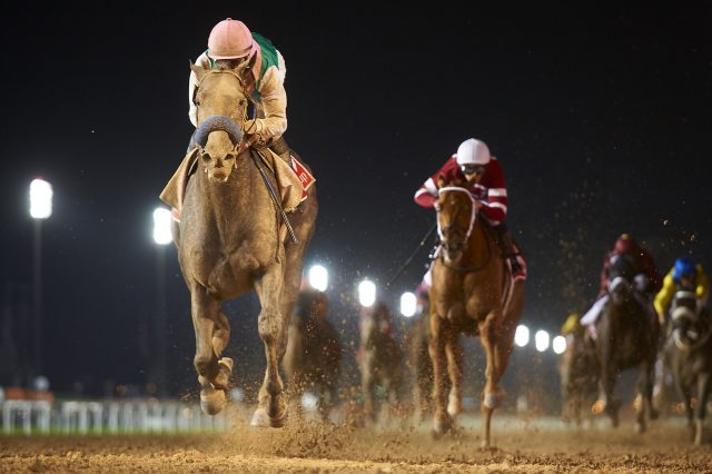 Arrogate wins the Dubai World Cup 2017