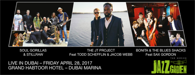 Jazz Garden - The Series @ Habtoor Grand Resort on 28th April 2017