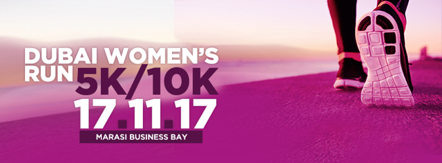 Dubai Women's Run 2017 @ Marasi, Business Bay on 17th November 2017