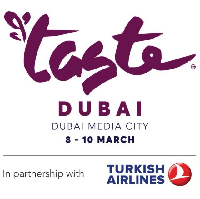 Taste of Dubai @ Dubai Media City, 8-10 March 2018