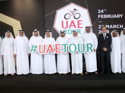 UAE TOUR: Logo and Trophy unveiled in Dubai