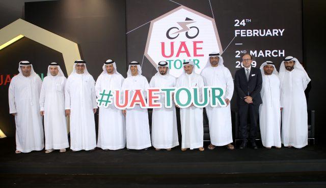 UAE TOUR: Logo and Trophy unveiled in Dubai