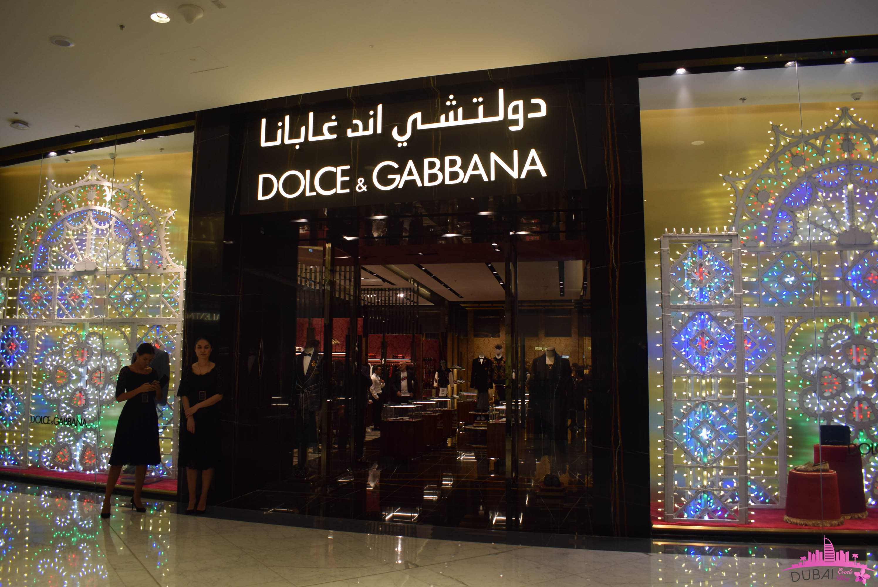 6a257695f36b Dolce & Gabbana Fashion Catwalk @ The Dubai Mall New Boutique on 7th  October 2018