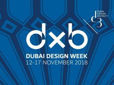 Dubai Design Week 12-17 November 2018