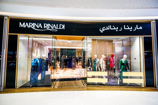 Marina Rinaldi inaugurates a flagship store @ The Dubai Mall with Ashley Graham and Mona Kattan