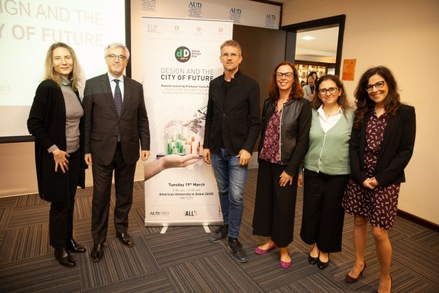 Italian Design Day @ American University Dubai on 19th March 2019