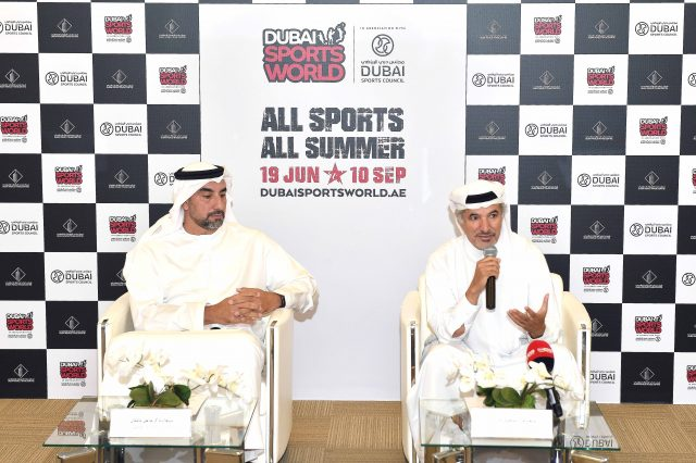 Dubai Sports World (DSW) @DWTC from June 19 until September 10 2019
