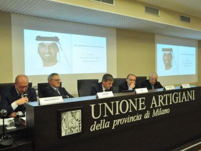 FORUM -EXPO MILANO 2015 - EXPO DUBAI 2020 UN PONTE PER L'INTERNAZIONALIZZAZIONE DELLE PMI- IL RUOLO DI UNIONE ARTIGIANI E DUBAI FUTURE FOUNDATION