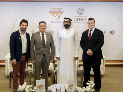 Corporate Sports Championship 2020 officially launched at Dubai Sports Council