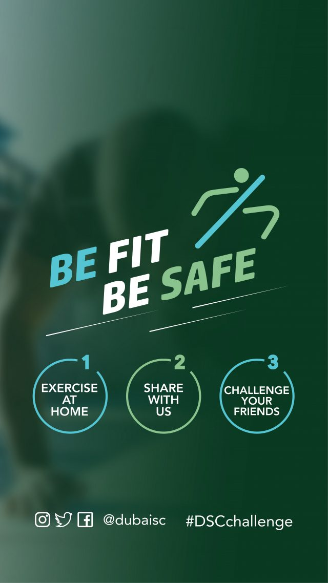 "Dubai Sports Council's ""Be Fit, Be Safe"" campaign becomes a hit on line"