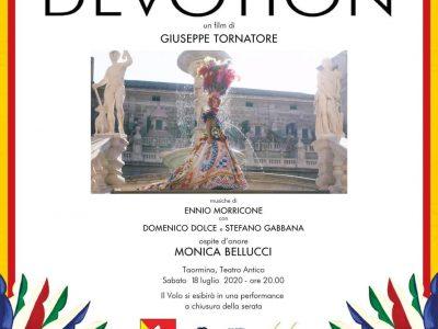 Devotion: Anteprima Assoluta al Teatro Antico di Taormina il 18/07/2020