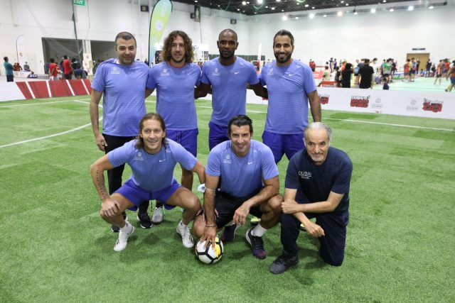 International Football's biggest Stars @ Dubai World Trade Centre